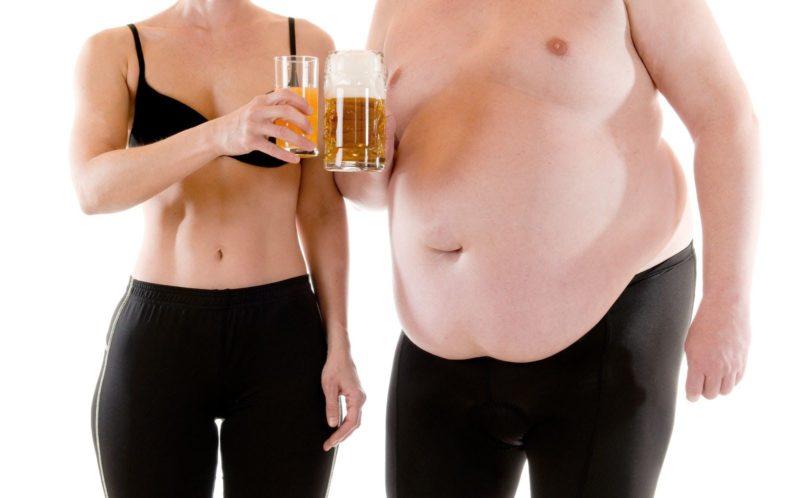 Можно ли потолстеть от водки Почему
