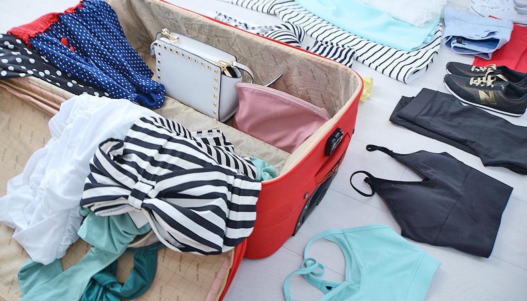 Как сложить одежду в чемодан