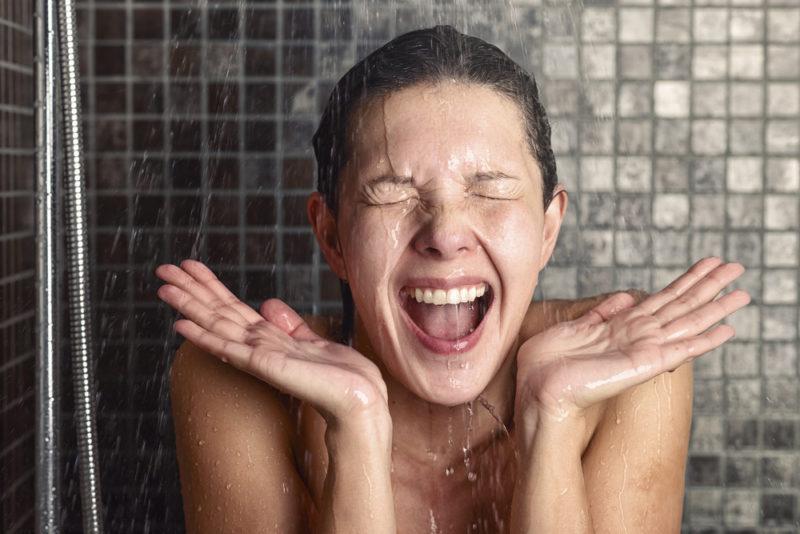 Прохладный душ