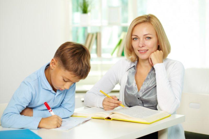 Учитель с учеником