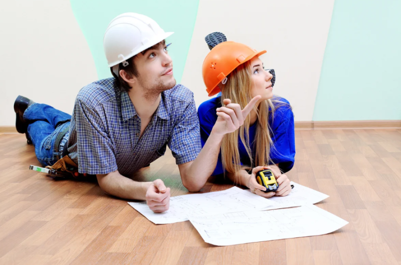 Пара планирует ремонт